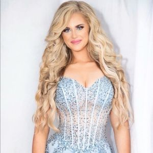 ICE PRINCESS JOVANI GOWN